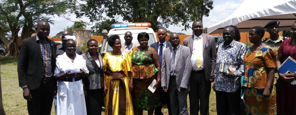 Handover of the Ambulance